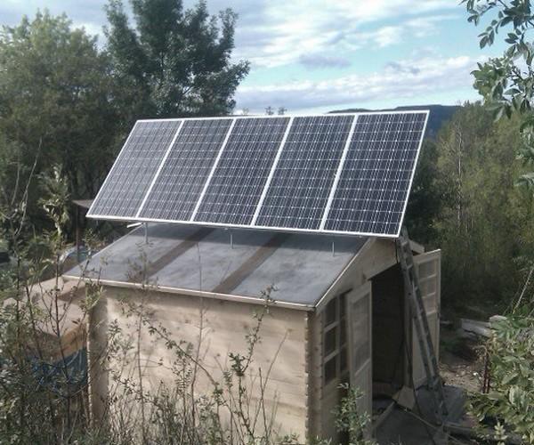 panneaux solaires 12